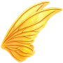 Gold Iridescent Wings