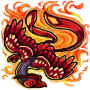 Fire Mirabilis Squishy