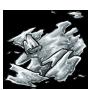Silver Shimmering Flecks